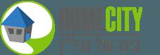 """הום סיטי נדל""""ן Logo"""